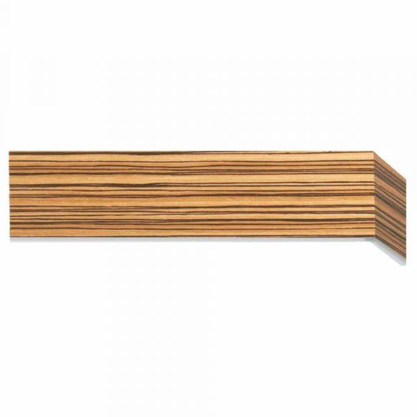Dřevěné garnýže s krycím čelem Cebra