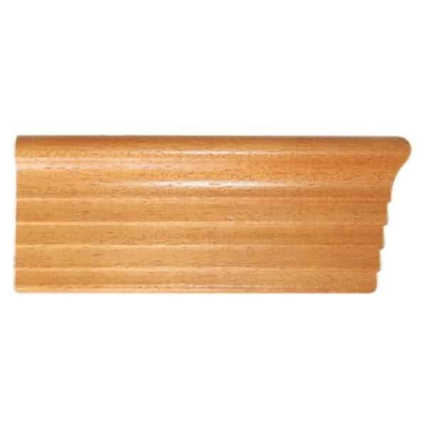 Dřevěné garnýže s krycím čelem Elegance detail