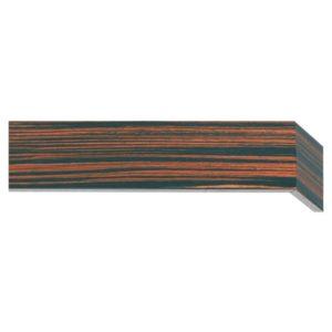 Dřevěné garnýže s krycím čelem Espresso
