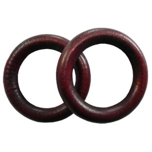 Dřevěný kroužek na garnýže mahagon