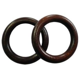 Dřevěný kroužek na garnýže ořech