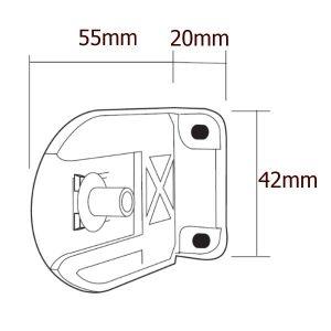 Držák pro řetízkové rolety gala pro mechanizmus pr.28mm