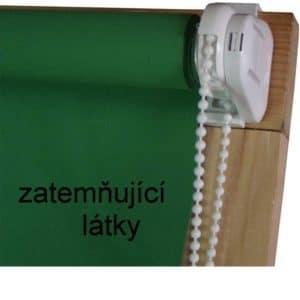 Řetízkové rolety Mini se zatemňující látkou
