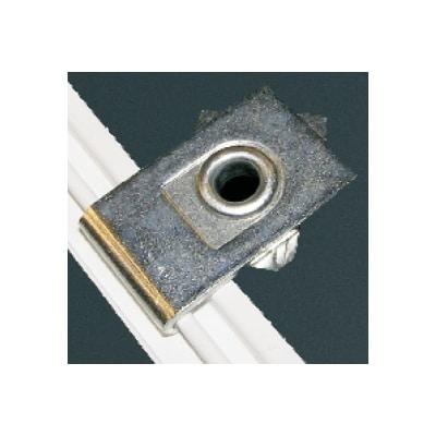 Kovový stropní držák pro záclonové kolejnice ALS19