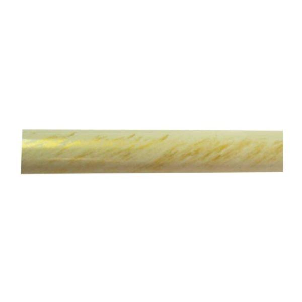 Kovová tyč pro garnýže průměr 16mm v barvě bílo zlatá.