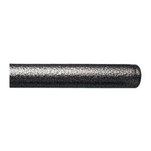 Kovová tyč pro garnýže průměr 16mm v barvě chrom tepaný.