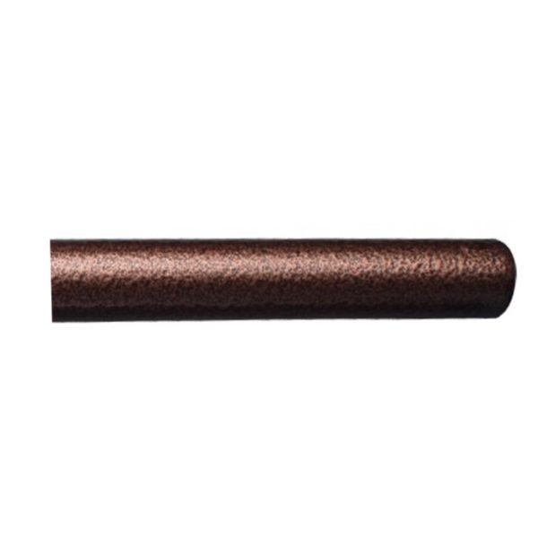 Kovová tyč pro garnýže průměr 16mm v barvě měď tepaná.