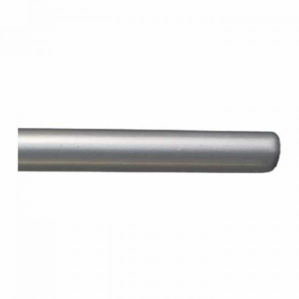 Kovová tyč pro garnýže průměr 16mm v barvě stříbrná mat.