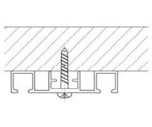 Záclonové kolejnice AL360 montáž