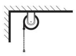 Montáž rolety na strop