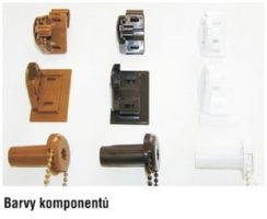 Komponenty pro rolety mini
