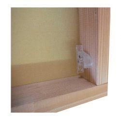 Háčky pro zajištění střešní rolety v dané poloze.